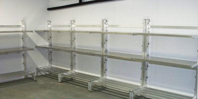 Bradley Industries Shelves for Refrigerated Storage